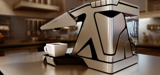 工業風格咖啡機