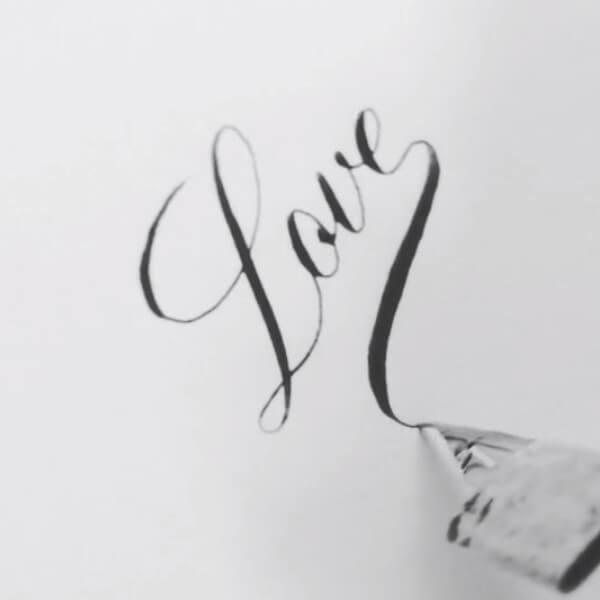 手寫英文字