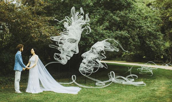 藝術家的婚禮裝飾
