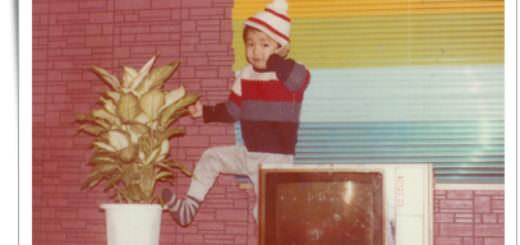 李介介小時候的照片
