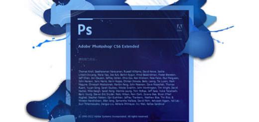 adobe Photoshop CS6 開啟畫面