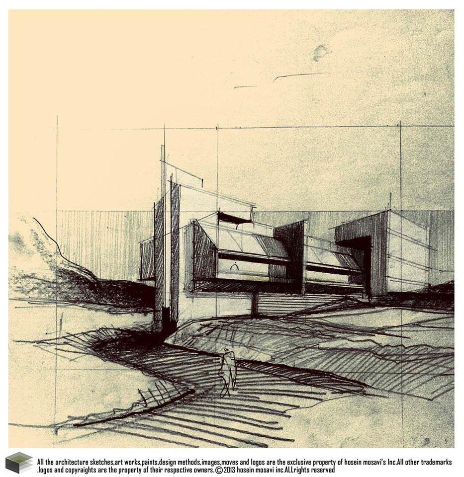 059建築設計師手稿作品