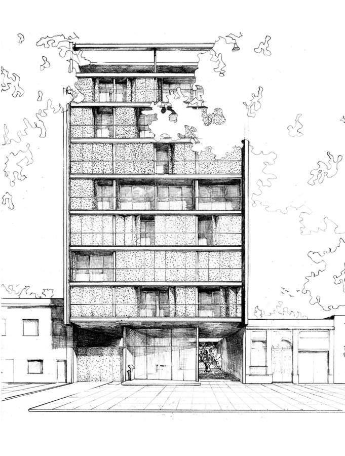 063建築設計師手稿作品