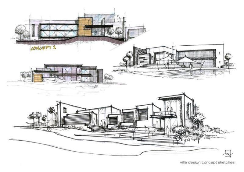 072建築設計師手稿作品