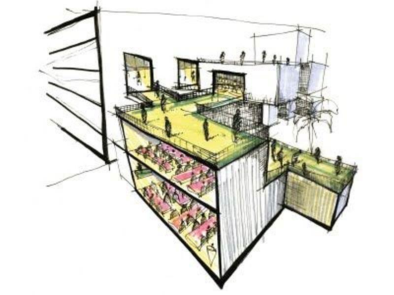 077建築設計師手稿作品