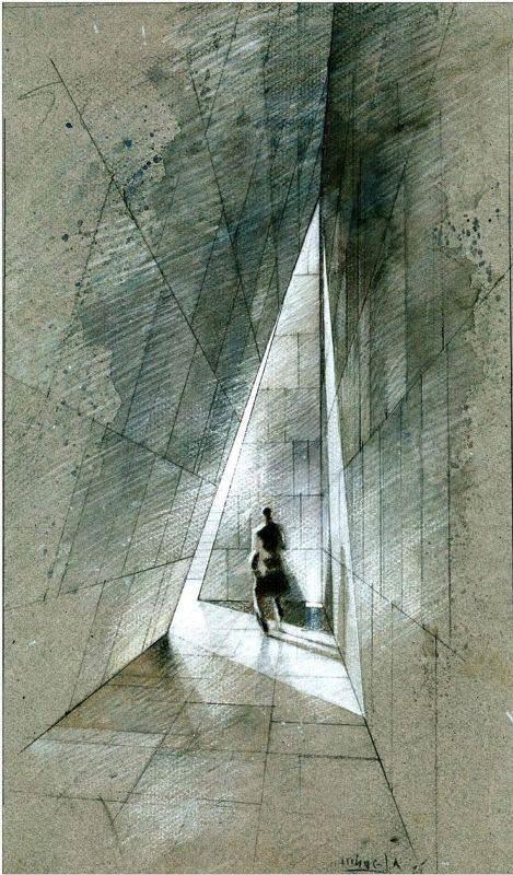 099建築設計師手稿作品