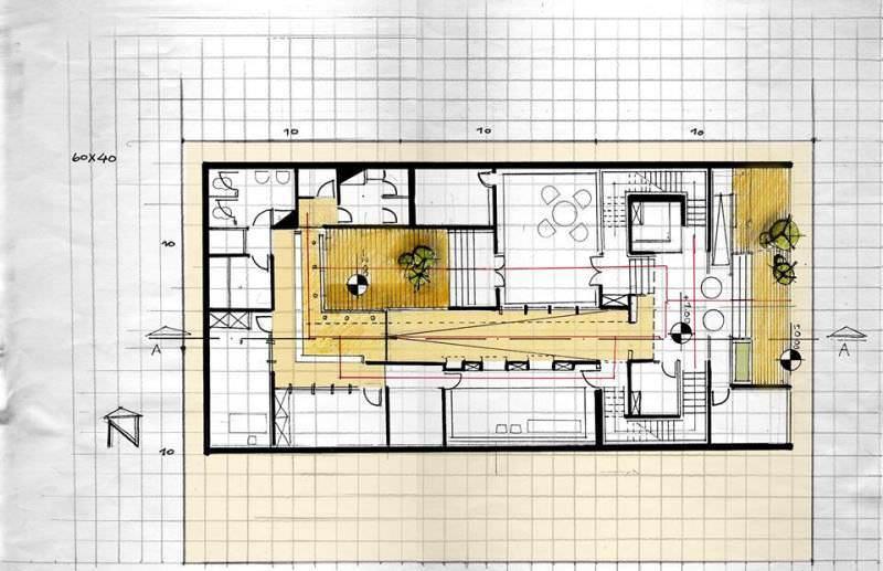 157建築設計師手稿作品