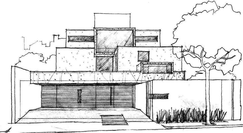178建築設計師手稿作品