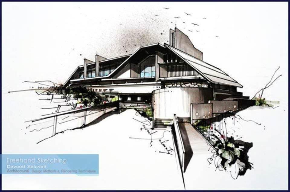 191建築設計師手稿作品
