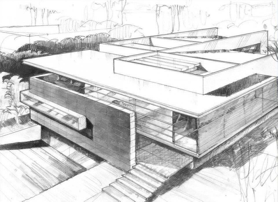 199建築設計師手稿作品
