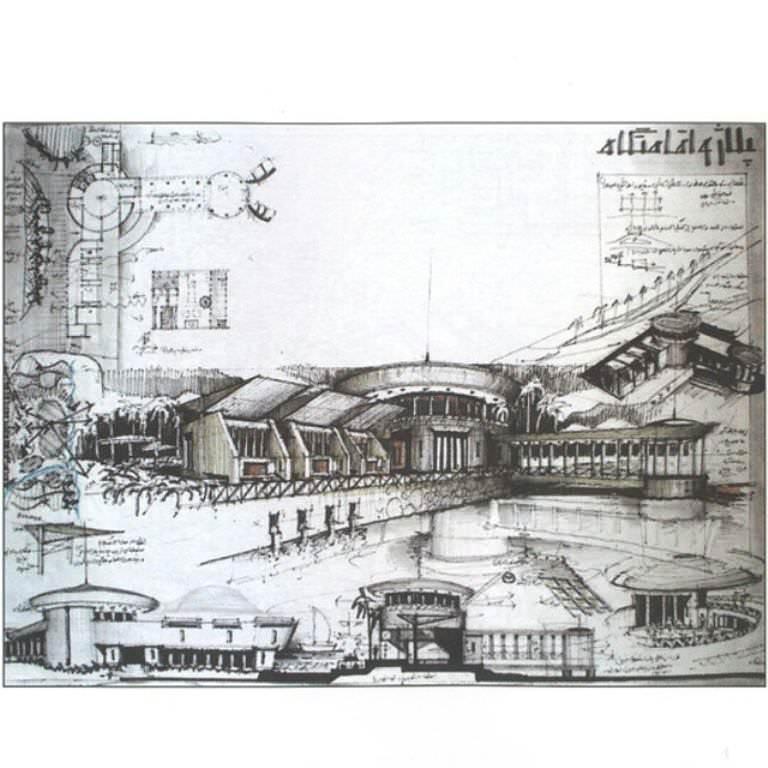 247建築設計師手稿作品