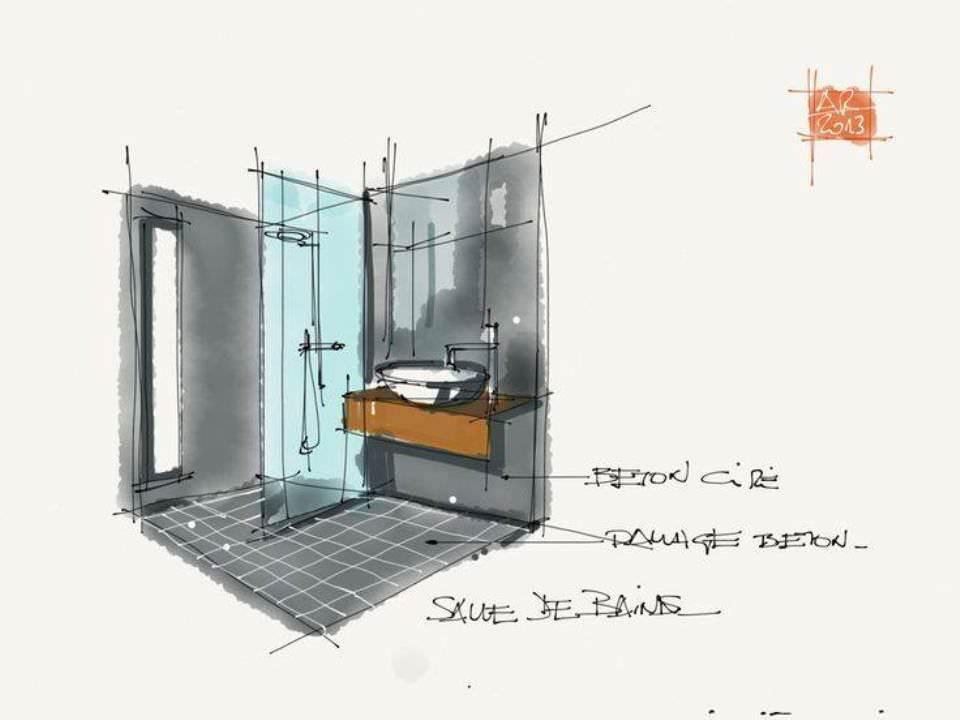 261建築設計師手稿作品