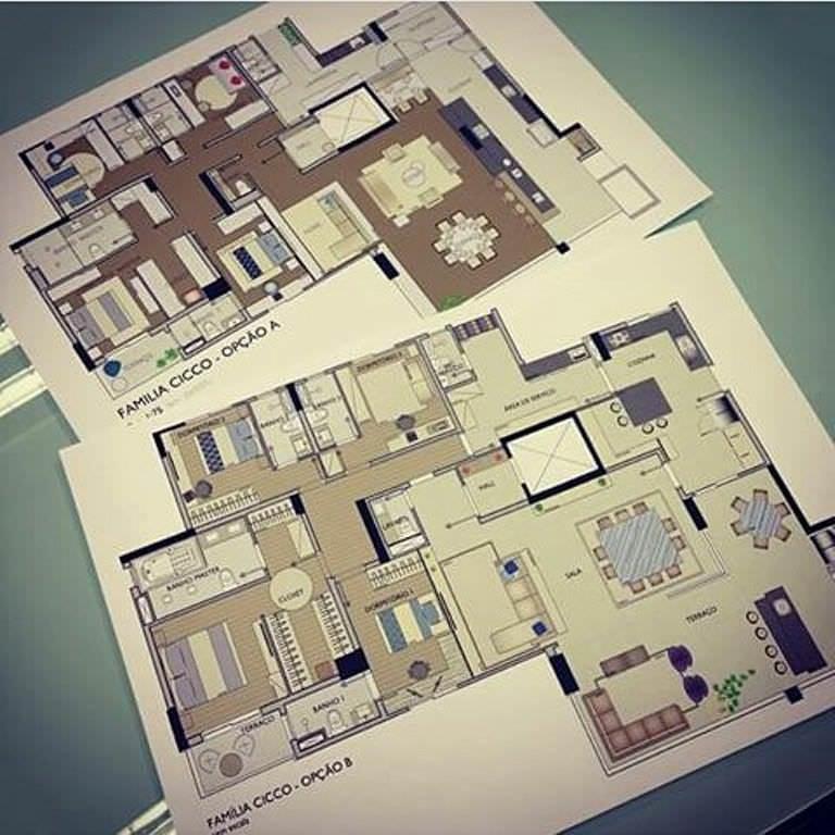 279建築設計師手稿作品
