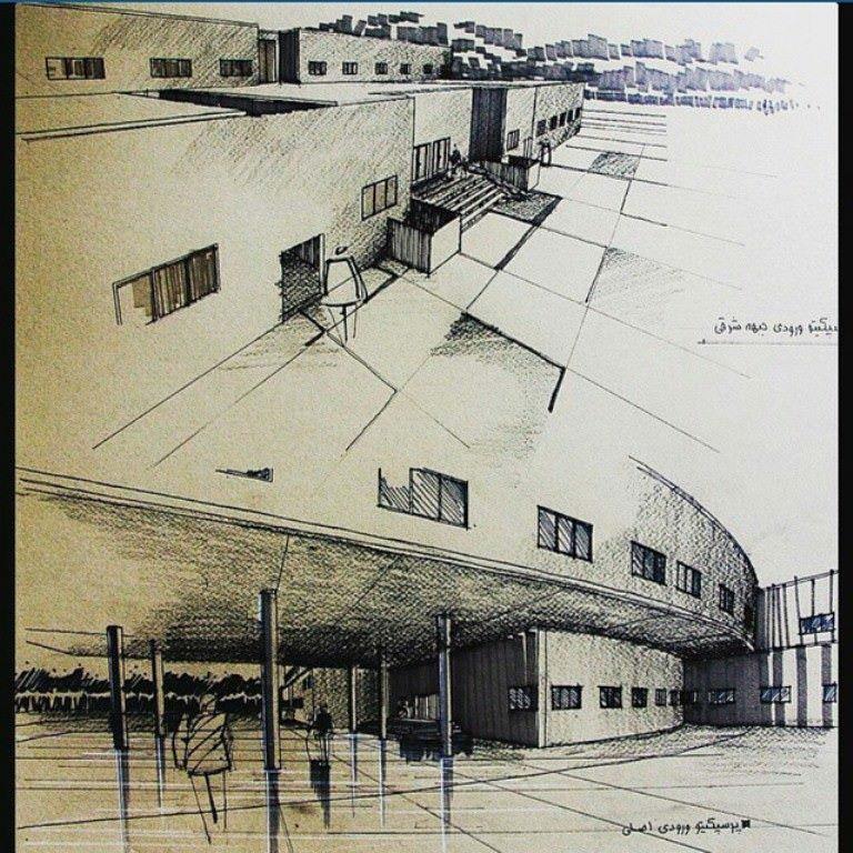286建築設計師手稿作品
