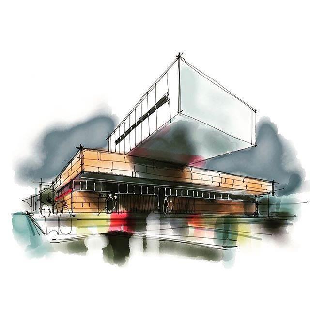 320建築設計師手稿作品