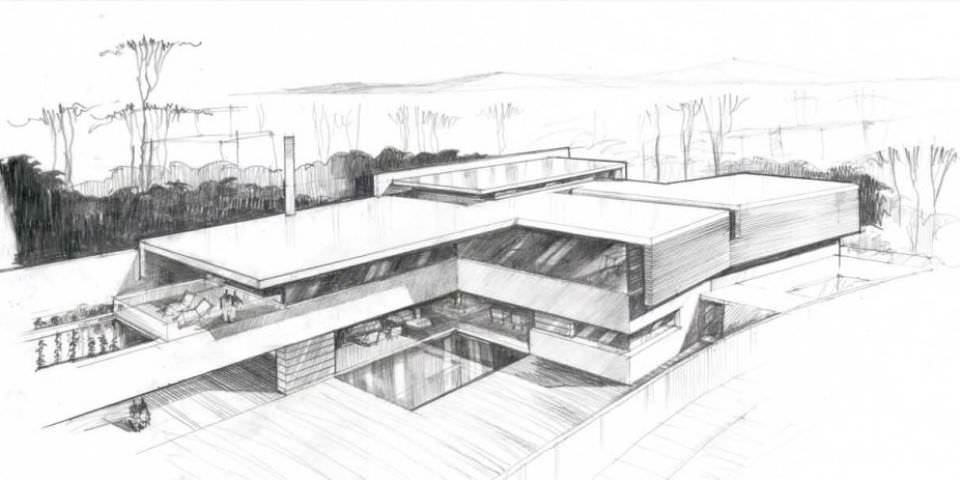 402建築設計師手稿作品