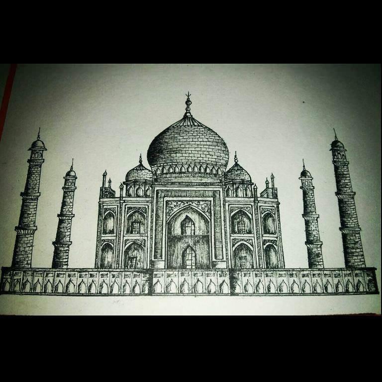 422建築設計師手稿作品