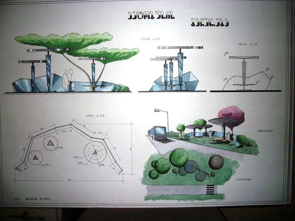 432建築設計師手稿作品