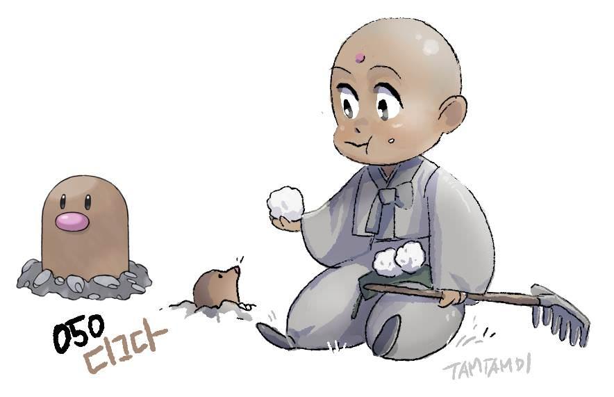 寶可夢擬人插畫