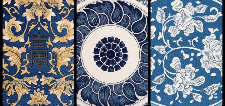 東方傳統紋飾素材