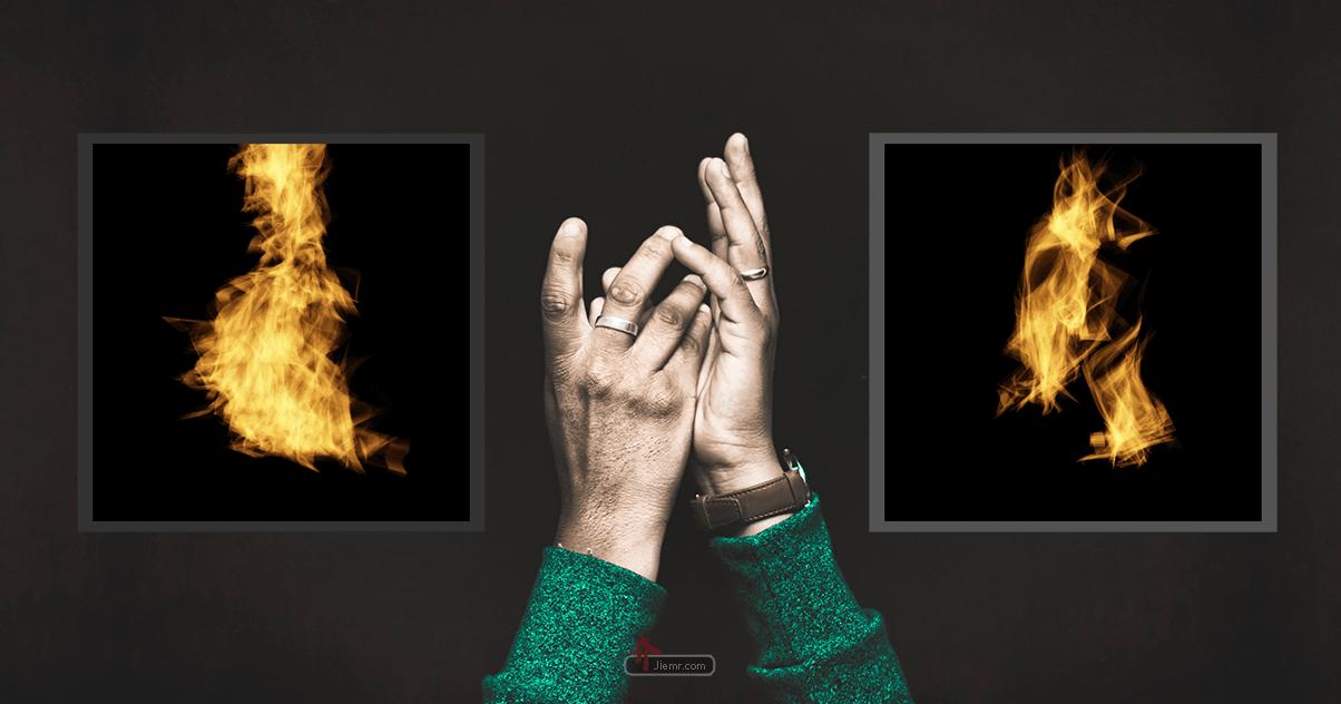 Photoshop火焰濾鏡特色圖