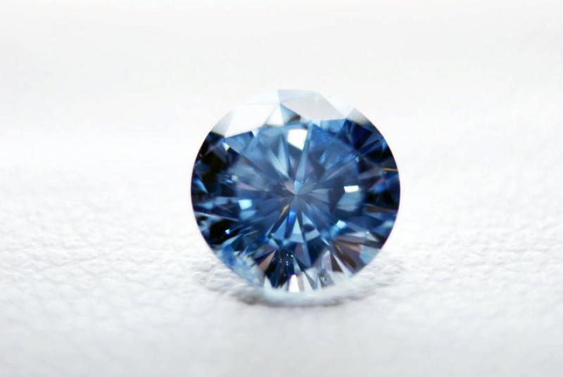 骨灰藍鑽石