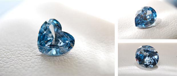 骨灰鑽石的造型