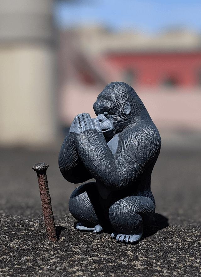 禱告猩猩公仔