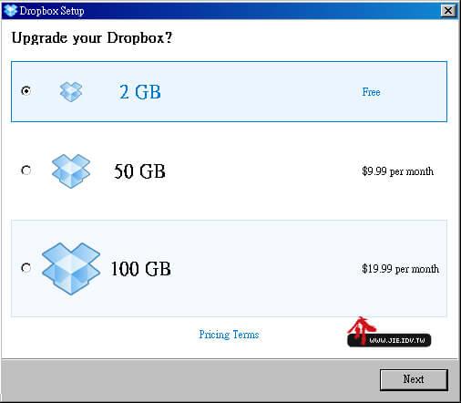 Dropbox UI