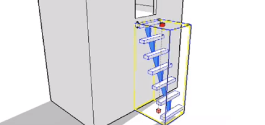 SketchUp 簡易建造模型