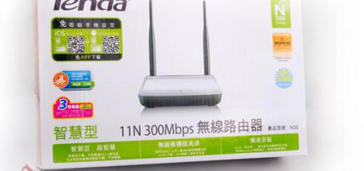 Tenda N30 300Mbps 無線分享器